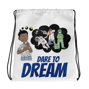 Dare to Dream Drawstring bag