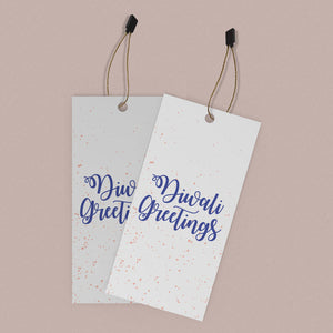 Diwali Greetings gift/bag tags <br/> (set of 10)
