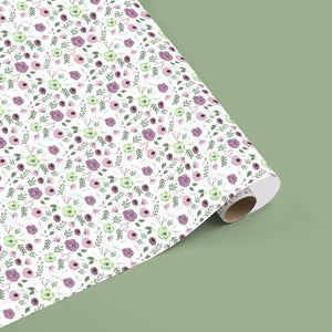 Wildflower wrapping sheets+note cards <br/> (set of 5)