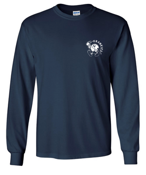 Mr. Coffee Guy - Navy Long Sleeve Shirt