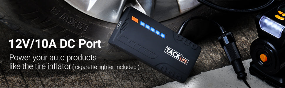 Tacklife T6 Car Jump Starter
