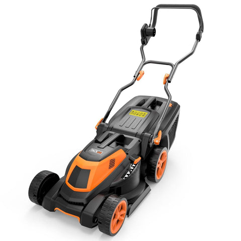 1600W Electric Lawn Mower, 3-in-1, Cutting Width 38 cm, 40L Grass Box - GLM4A