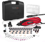 Rotary Tool Kit Variable Speed with Flex shaft, 80 Accessories - RTD35ACL