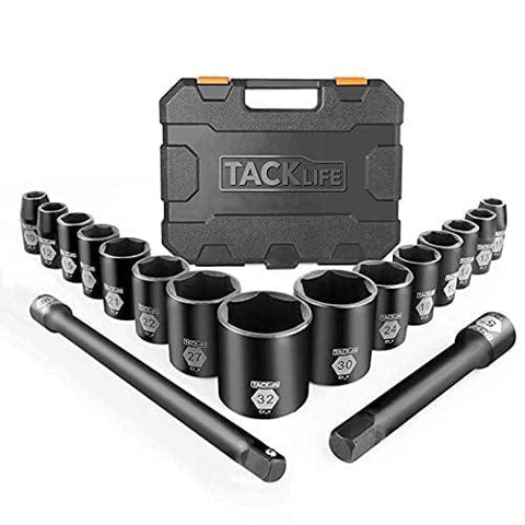 Drive Master Shallow Impact Socket Set- HIS3A
