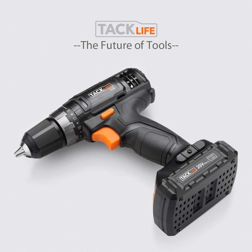 20V Power Drill Cordless Drill Driver 2 Adjustable Speed-PCD06B