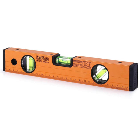 Level 12-Inch Aluminum Alloy Magnetic Torpedo Level - MT-L03