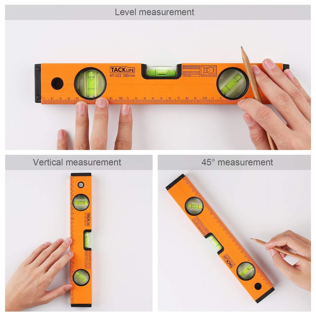 Level 12-Inch Alloy Magnetic Torpedo Level - MT-L03