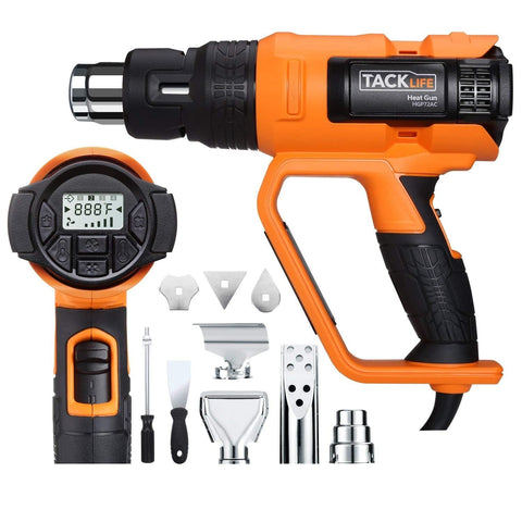 Heat Gun 1700W Heavy Duty Hot Air Gun with Large LCD Display-HGP72AC