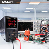 DC Power Supply Variable, Adjustable Switching Regulated Power Supply 30V 10A with Course and Fine Adjustments - MDC02