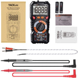 Digital Multimeter TRMS 6000 Counts, LED Intelligent Indicator Jack - DM01