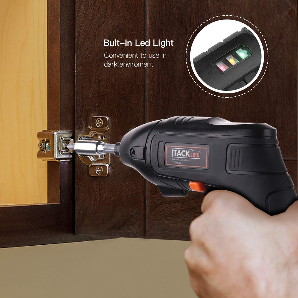 Electric Screwdriver 1500 mAh Cordless Screwdriver Rechargeable-SDP60DC
