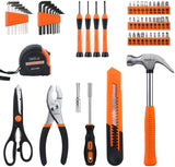 TACKLIFE 57-Piece Home Tool Kit-HHK3A