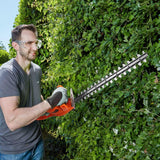 TACKLIFE Hedge Trimmer, 450W Electric Hedge Cutter-GHT3A