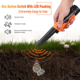TACKLIFE Pinpointer Metal Detector Fully IP68 Waterproof with High Sensitivity -MPP01