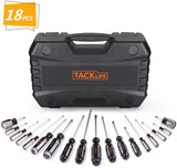 TACKLIFE Screwdriver Set,18pcs -HSS7A
