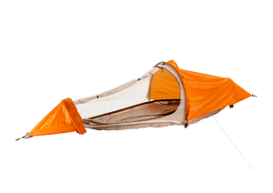 flying tent orange