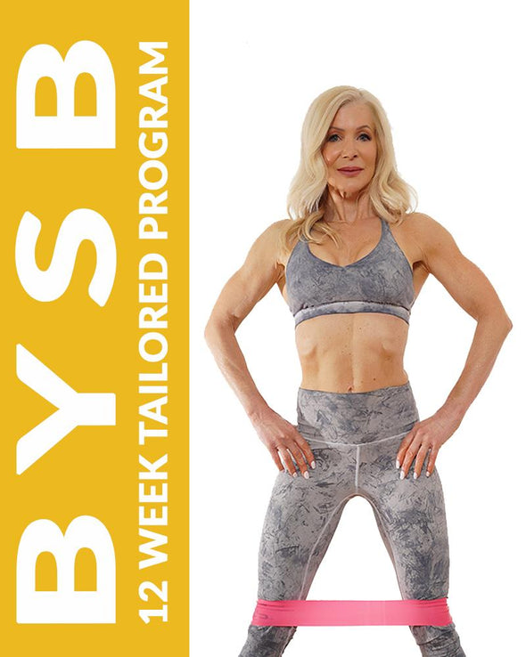 Program - BYSB Individually Tailored 12 Week Exercise & Eating Program (Just For You) Including Direct Weekly Support & Guidance From Me