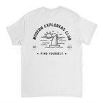 MODERN EXPLORERS CLUB TEE- WHITE