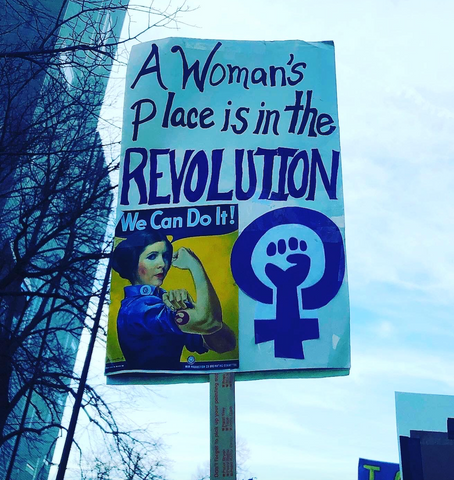 women's march Denver 2020