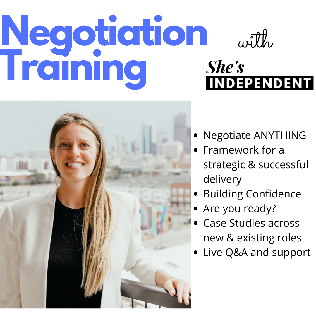 Negotiation is Everything -- 1/28/21, 12-1pm MT