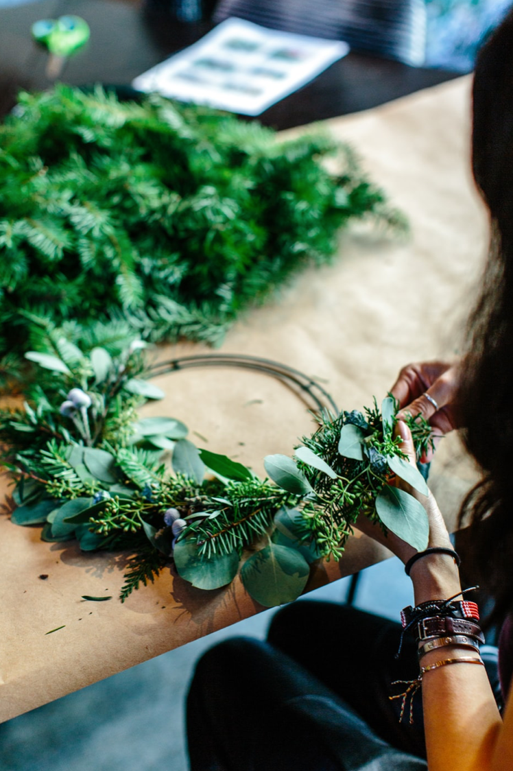 Wreath Making,