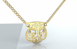 tiger necklace, power necklace