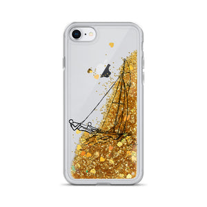 Open image in slideshow, ZR Liquid Glitter iPhone Case