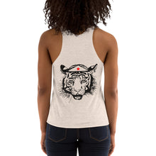 Load image into Gallery viewer, Statement Tri-Blend Racerback Tank Customizable