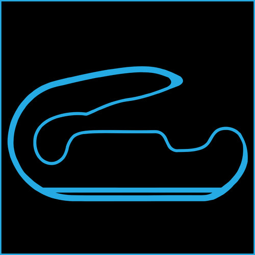 Phoenix International Raceway Track Outline Sticker
