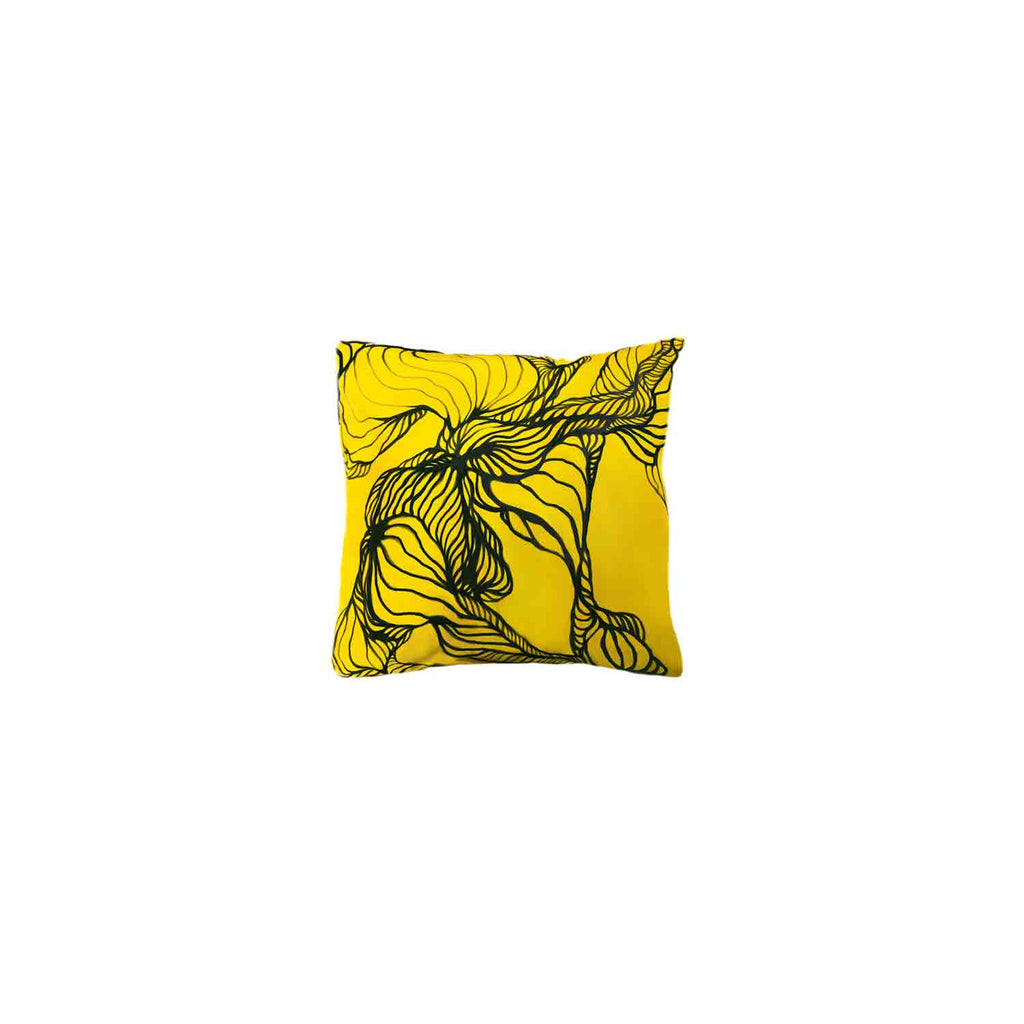 Zac - Classic Silk Cushion Painted