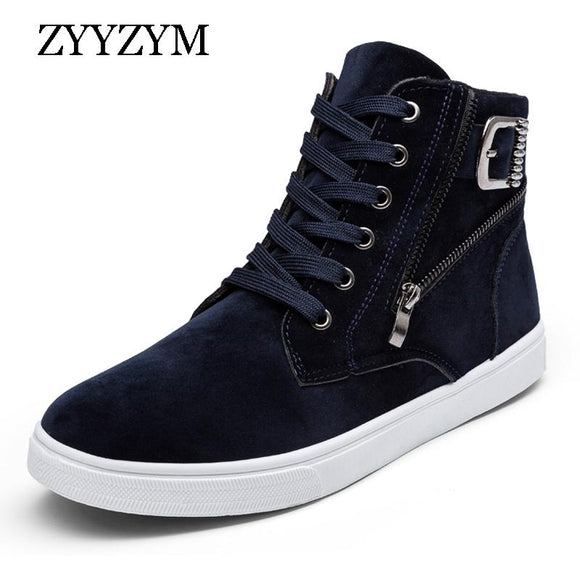 ZYYZYM Men Shoes 2018 Spring Hot Sale Lace-up High Style Fashion Youth For Men Casual Shoes