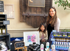 Owner of Fyve, Mindy Cheng with daughter Katelyn Cheng