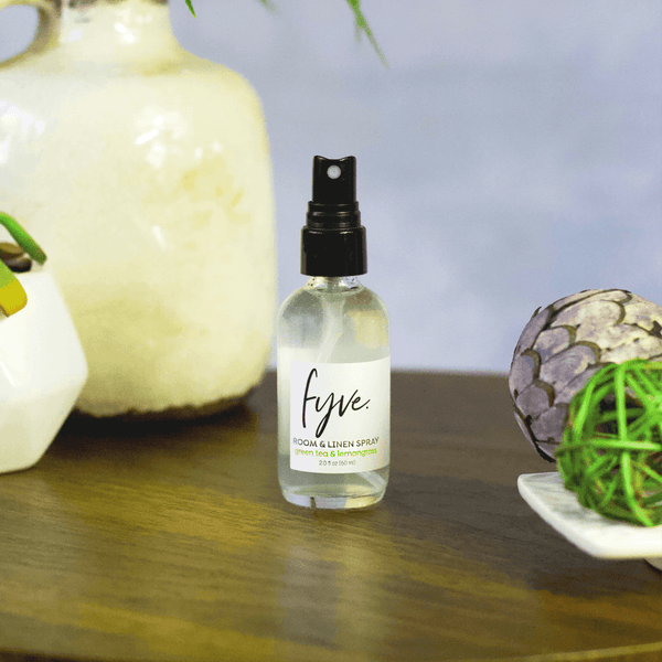 Green Tea Lemongrass Room & Linen Spray - Fyve, Inc.