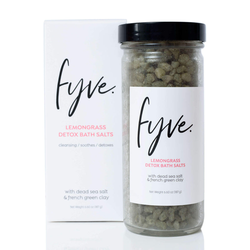 Lemongrass Detox Bath Salts - Fyve, Inc.