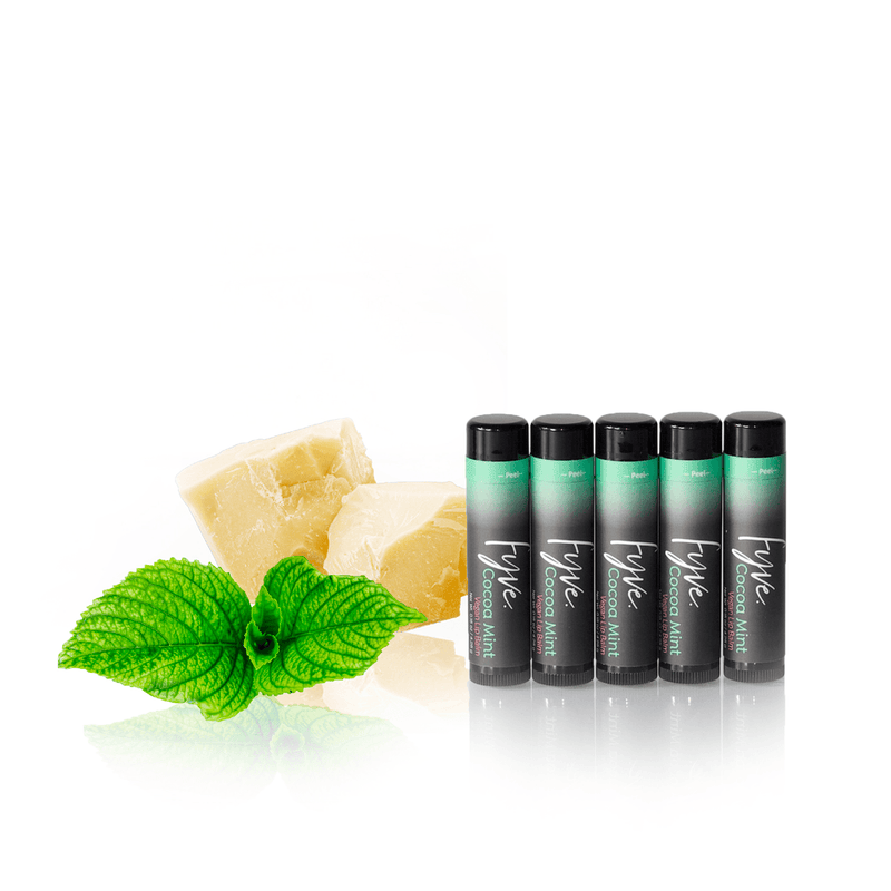 Vegan Lip Balm | Cocoa Mint - Fyve, Inc.