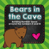 Bears in the Cave! Build number sense w/ this FUN math game!