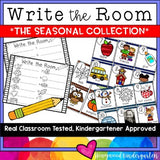 Write the Room . simple, seasonal literacy word work for each month
