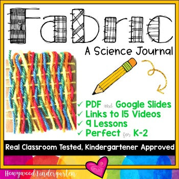 Fabric ... a science journal w/ links to video clips ... can go w/ or w/o Foss