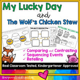 My Lucky Day & Wolf's Chicken ... Compare/Contrast, Retelling, Sequencing, more