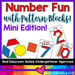Number Fun with Pattern Blocks ... mini edition!