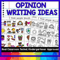 OPINION WRITING IDEAS