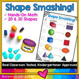 Shape Smashing . 2D and 3D shape creation task . hands on & fun math !