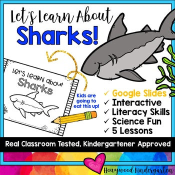 Sharks ... Zoo Animal Research Mixed w/ Authentic Literacy Practice!
