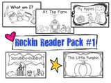 Sight Words Emergent Reader Books BUNDLE! 10 Awesome Books!