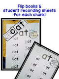 Word Family / Phonics Teaching game and fabulous flipbooks!