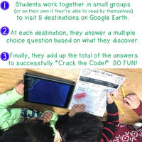 Crack the Code: USA Edition : Google Earth : Math . Landforms . Teamwork . FUN
