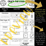 Crack the Code: March Edition : Google Earth : Math . Landforms . Teamwork . FUN