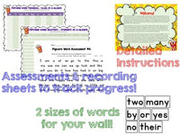 Sight words ... Word Work , Assessments , & more for the year!