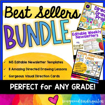 BEST SELLER BUNDLE! Get Organized & Creative! Awesome for ANY Grade!