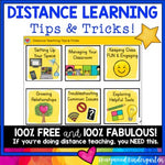 Distance Learning Tips & Tricks : FREE & Fabulous!